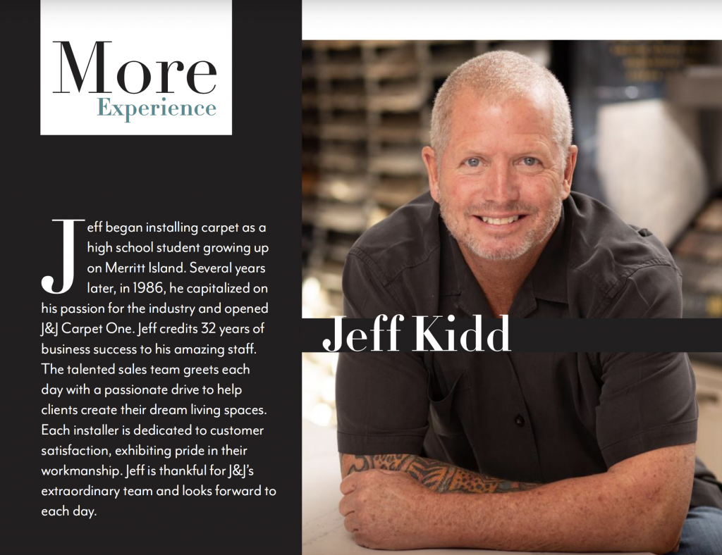 J&J Owner Jeff Kidd