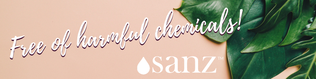 Free of harmful chemicals!