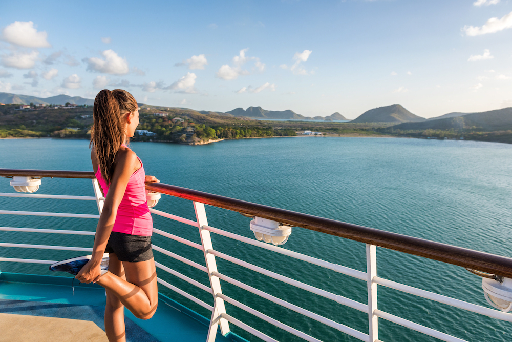 Woman on Cruise Watching the View