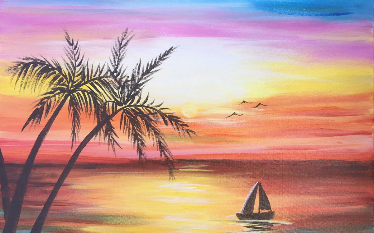 sip-n-paint-Sunset-Cruise