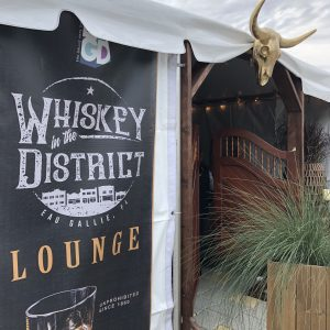 Whiskey in the District Lounge