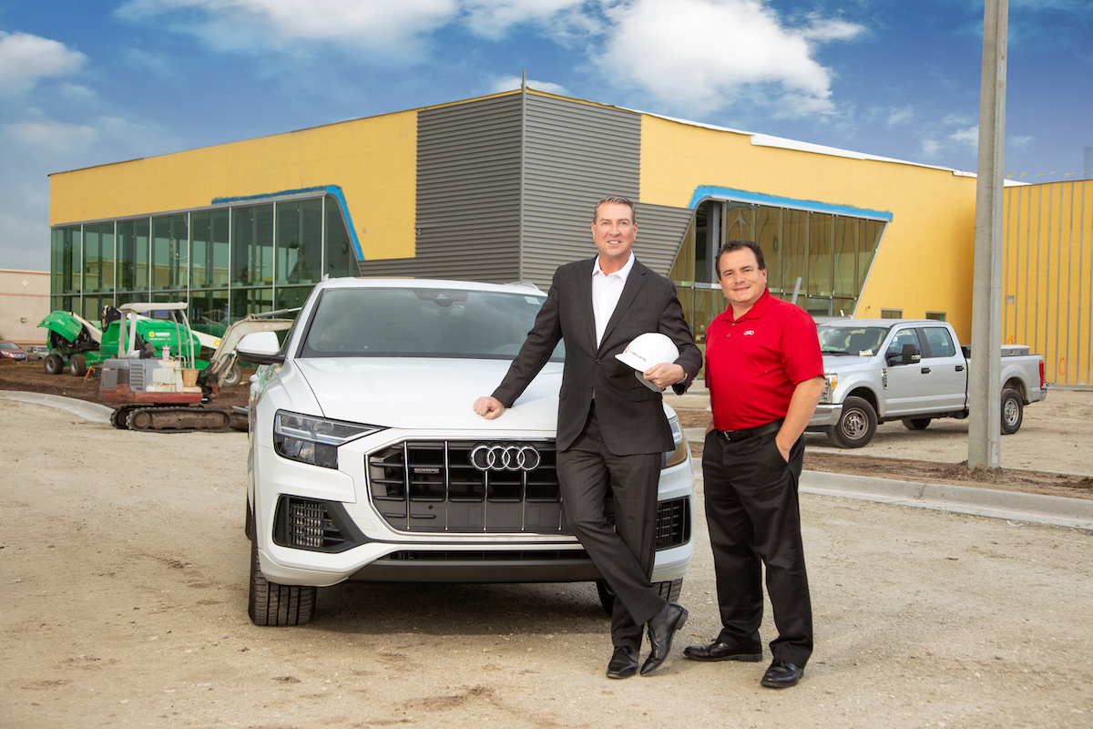 Audi Of Melbourne >> A New Home For An Exclusive Brand Audi Melbourne Space
