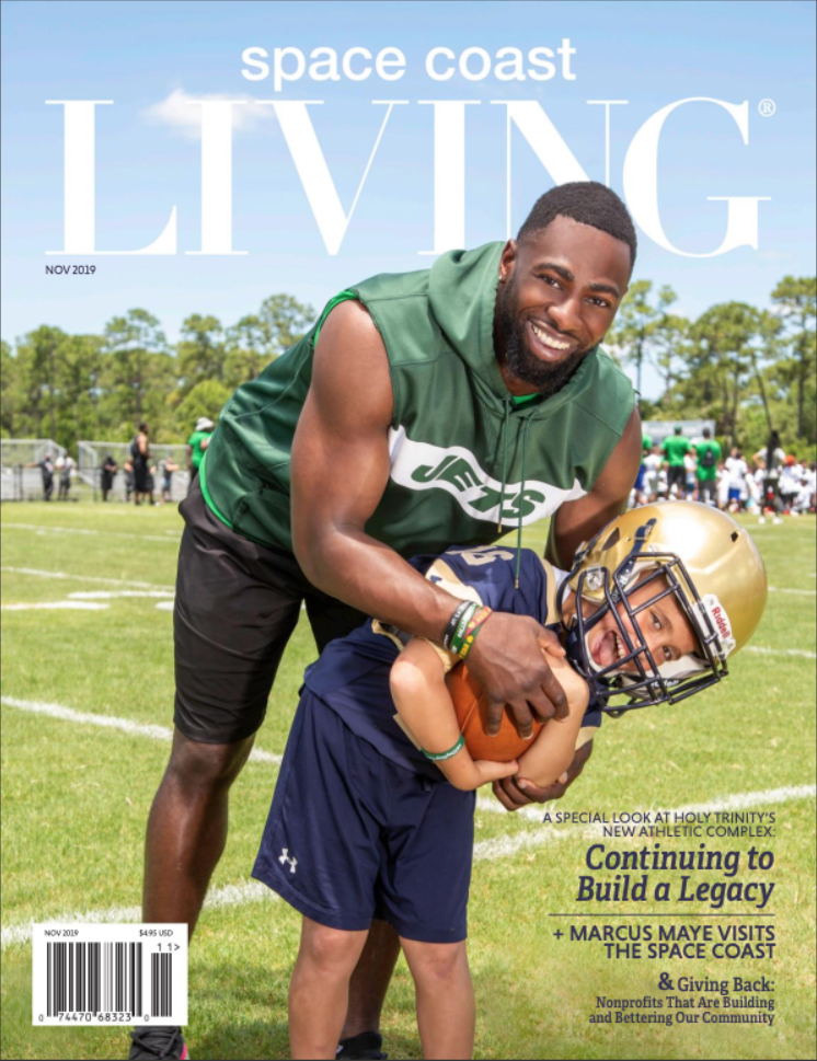 Space Coast Living Marcus Maye Cover