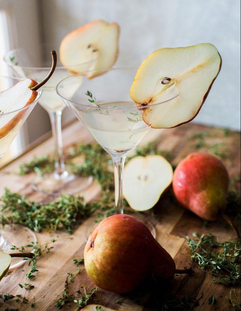 Thyme Martini