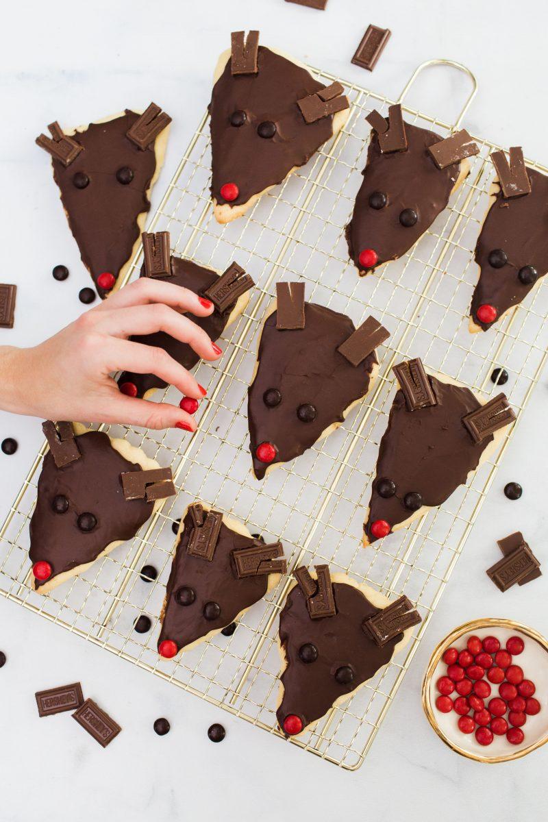 Mint Chocolate Reindeer