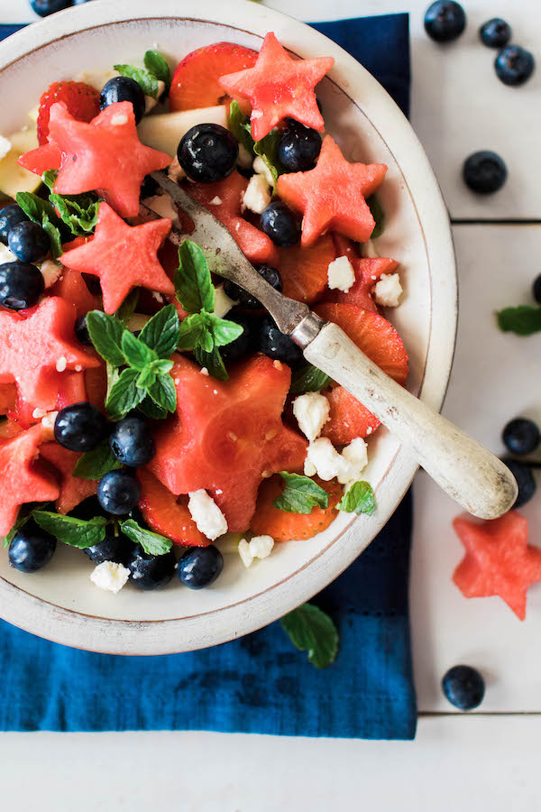 FIREWORKS FRUIT & FETA SALAD