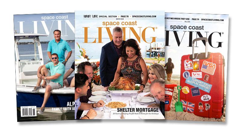 Space Coast Living Magazines